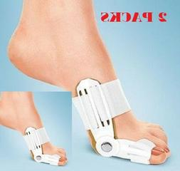 2X Big Toe Bunion Hallux Valgus Straighteners Night Splint C