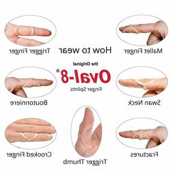 3-Point Products Oval-8 Finger Splint Size 4
