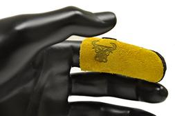 G & F 8128 Cowhide Leather Finger Guard, Finger Protection F
