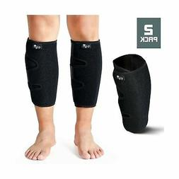 Calf Support Brace 2 Pack, Adjustable Shin Splint Compressio