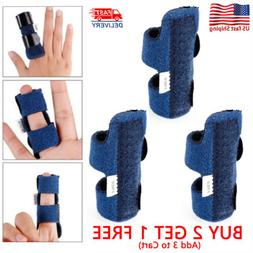 Adjustable Finger Splint Trigger Straightener Corrector Brac