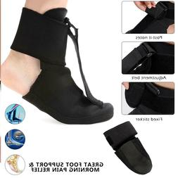 Adjustable Plantar Fasciitis Night Splint Foot Drop Brace Fo