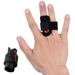 Basketball Sports Finger Splint Guard Protector Sleeve Suppo