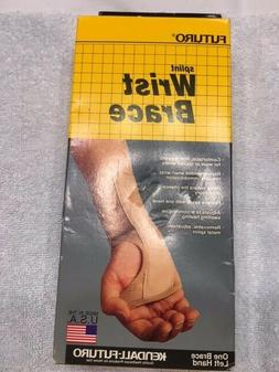 Beige Futuro Splint Wrist Brace - New - Open Box Item
