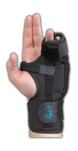 Med Spec Boxer Splint - Black - All Sizes