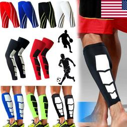 Breathable Calf Leg Compression Sleeve Socks Joint Shin Spli
