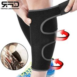 Calf Brace Adjustable Shin Splint Support Leg Compression Mu