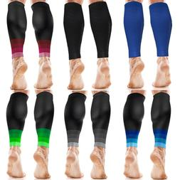 Calf Compression Sleeve Socks Men Women Shin Splint Leg Runn