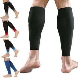 Calf Sleeve Compreesion Socks Running Leg Support Brace Spor