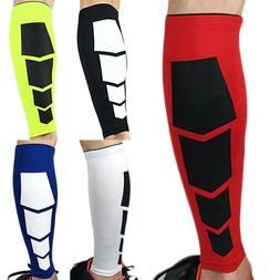 Calf Support Compression Leg Foot Sleeve Socks Sports Shin S