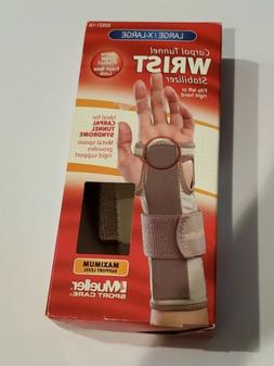 Mueller Carpal Tunnel Wrist Stabilizer Small/Medium or Large