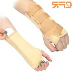 Carpal Tunnel Wrist Support Brace Sprain Forearm Splint Arth