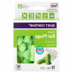 Flents Quiet Contour Ear Plugs  NRR 33
