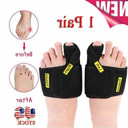 Day Night Big Toe Bunion Splint Hallux Valgus Straightener F