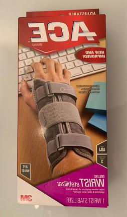 Ace Deluxe Left Wrist Stabilizer - 1 each, Pack of 3
