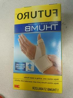 Futuro Deluxe Thumb Stabilizer, Moderate Stabilizing Support