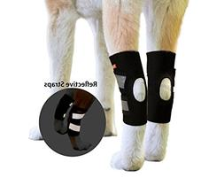 NeoAlly Dog Hind Leg Braces Ankle Support  Canine Rear Hock