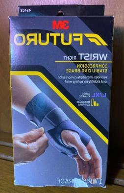 FUTURO Energizing Wrist Support 48402EN, Right Hand, Large/E