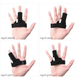 Finger Fixing Support Splint Straightener Brace Strap Trigge
