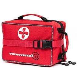 Surviveware Large First Aid Kit for Extended Camping Trips,
