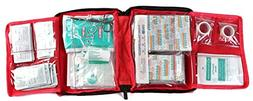 WELL-STRONG First Aid Kit 300 Pieces - Includes Splints, Ban