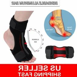 foot drop support ankle brace orthosis plantar