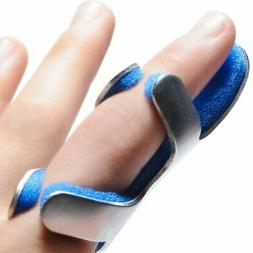 PROCARE Frog Style Finger Splint, Left or Right Hand Blue /