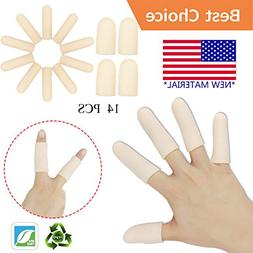 Gel Finger Cots, Finger Protector Support *New Material* Fin