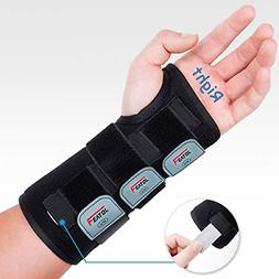 Hand & Wrist Braces For Carpal Tunnel Adjustable Support Wit