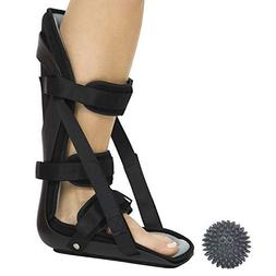 Vive Hard Plantar Fasciitis Night Splint and Trigger Point S