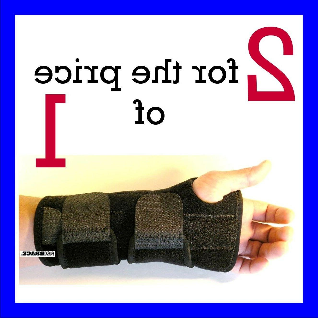 2 fda approved wrist hand brace carpal