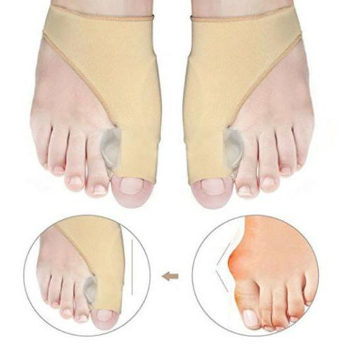 2pcs valgus big toe bunion straightener splint