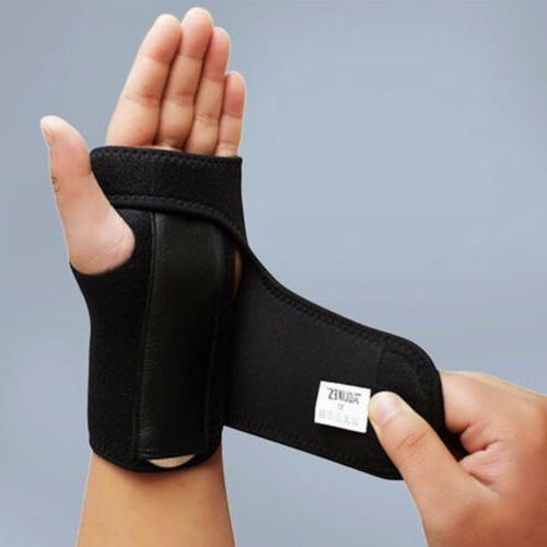 Adjustable Wrist Brace Palm Carpal Tunnel Tendonitis Band
