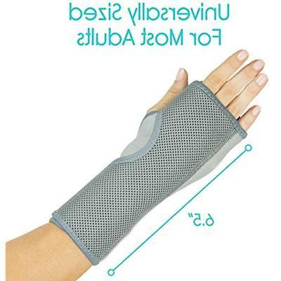 Arm Hand & Supports Vive Wrist Brace Sleep For Left, Right