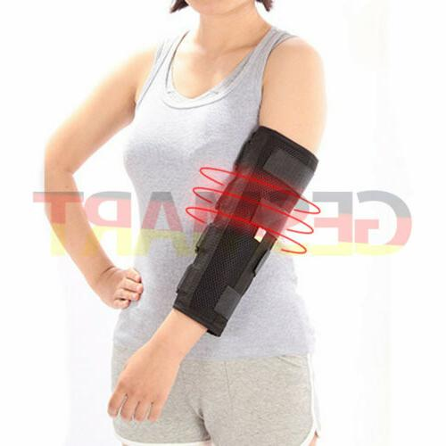 arm splint for elbow fixation and stroke
