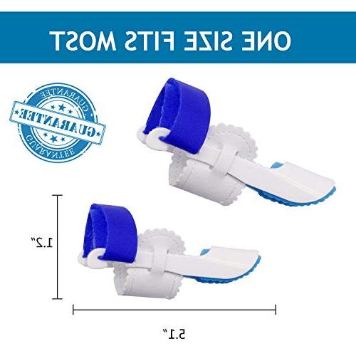 Bunion Bunion with Tape for Hallux Joint,Adjustable Velcro Bunion Splint Protector