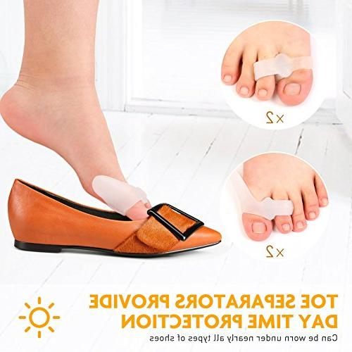 Bunion Corrector -Day/Night Support for