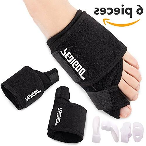 Bunion Relief Kit for Hallux -Day/Night Support