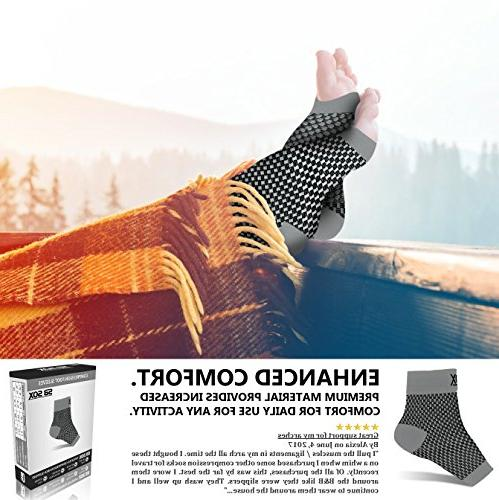 SB Sleeves for Women - Fasciitis for Fasciitis Everyday with Arch Support