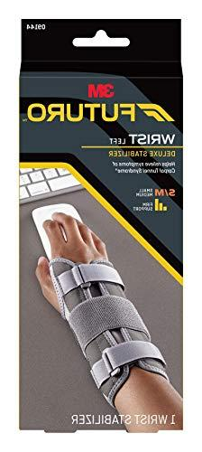 deluxe wrist stabilizer 09144ent left