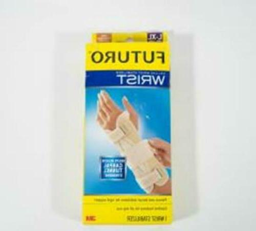 deluxe wrist stabilizer right hand adj firm