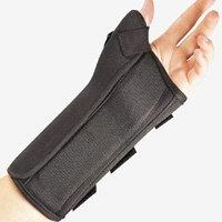 Fla 22-150MDBLK Soft Fit Suede Finish Wrist Brace for Right,