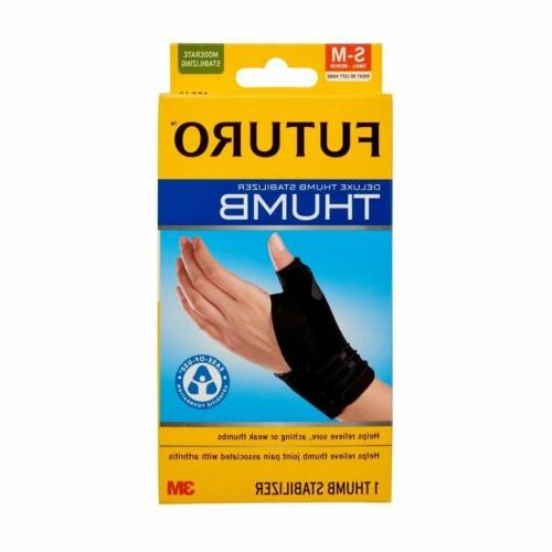 Futuro Deluxe Thumb Stabilizer 45834en Small-Medium Moderate