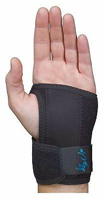 Med Spec GelFlex Wrist Support Brace, Black