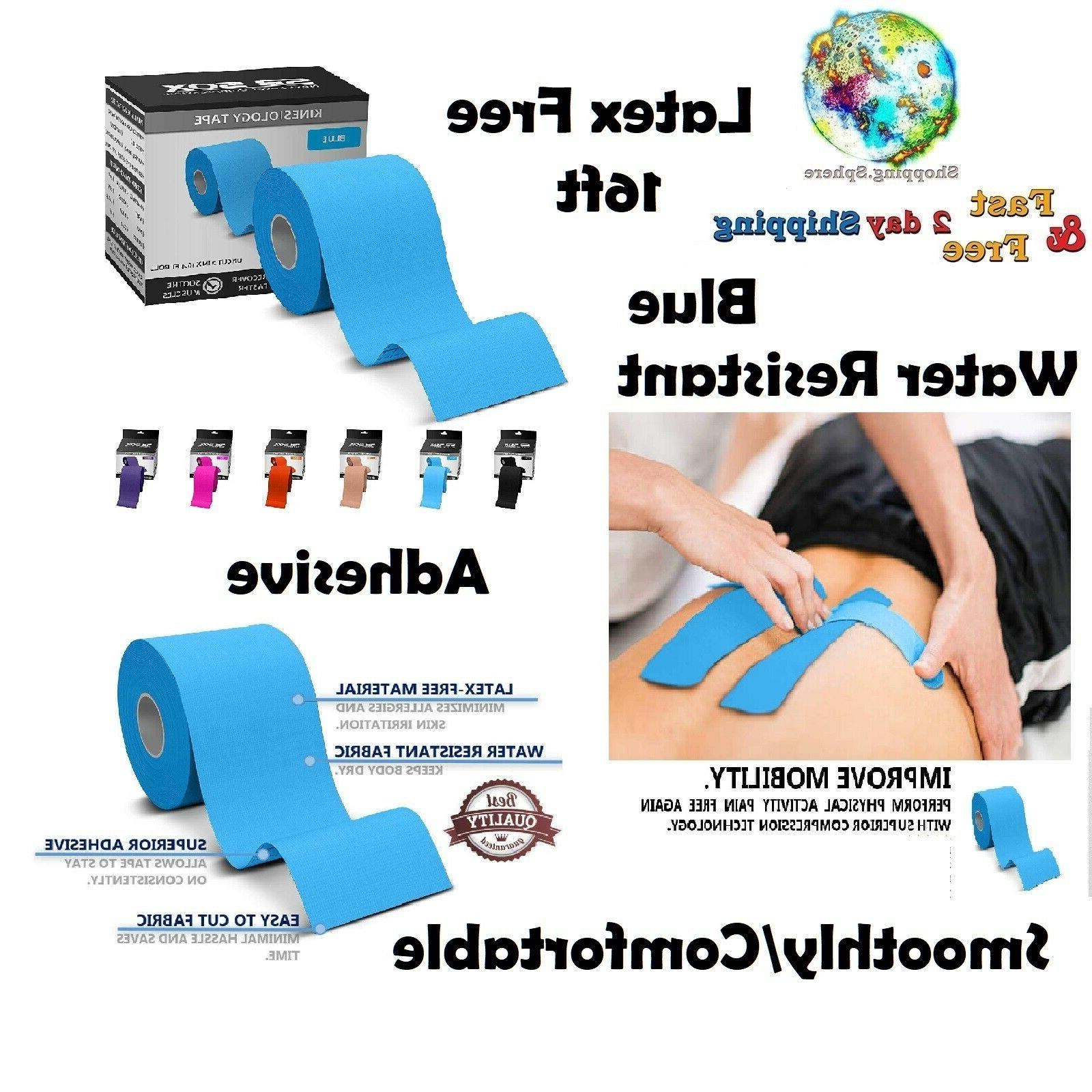 Kinesiology Tape Waterproof Fitness Braces Splints Supports