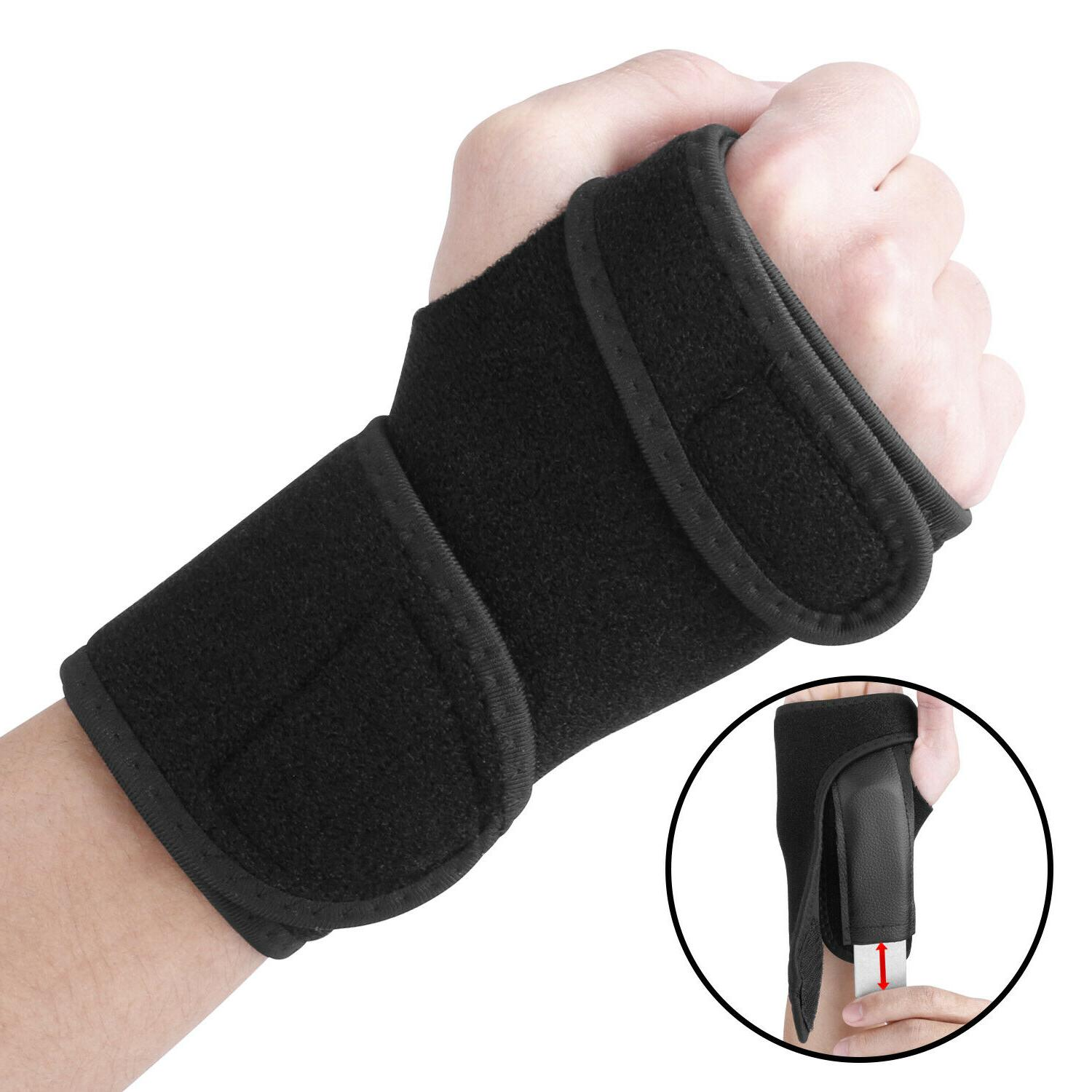 Wrist Hand Brace Carpal Compression Splint Pain Gloves
