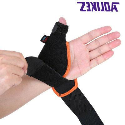 Medical Thumb Spica Splint Hand Wrist Support Brace Stabilis