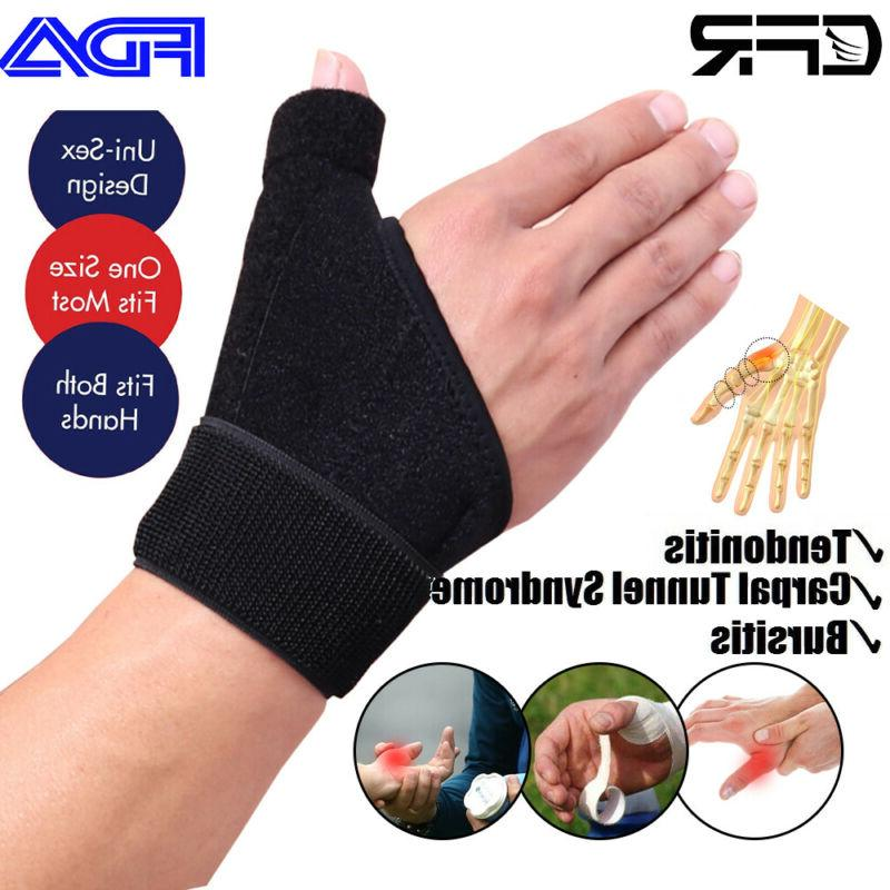 Thumb Spica Support De Tendonitis Neoprene