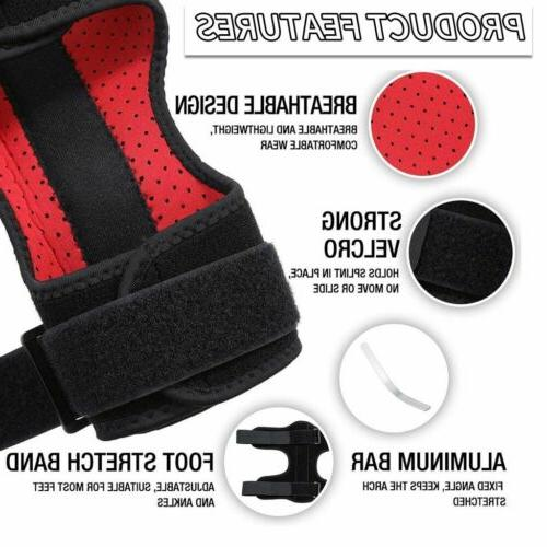 Foot Support Brace Orthosis Fasciitis Night Splint Correction