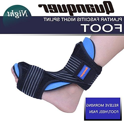 Plantar Fasciitis Night Foot for Support- Dorsal Splint for Effective from Fasciitis Heel, Arch Foot Pain Fits Right or
